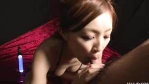 Blowjob gone hardcore cock swallowing Suzuka Ishikawa