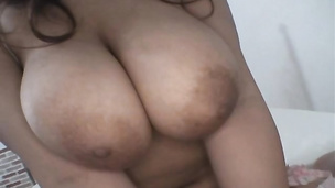 First time for this big tits wife when fucked in such hard manners