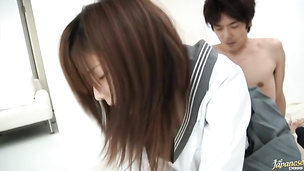 Asian Miyu Akimoto is stupefying and loves to bang