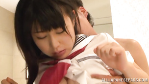 Sweet darling Chigusa Hara eager to fuck and be fucked